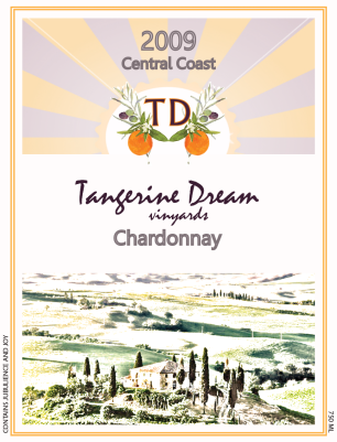 tangerine-dream-classic-crest-wine-label
